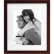 """Malden Classic Linear Wood Picture Frame, Walnut, 8"""" x 10"""""""