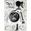 "Malden Baby Bump Sonogram Metal Picture Frame, Silver, 2.5"" x 2.5"""
