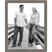 "Malden Sleek Border Metal Picture Frame, Silver, 8"" x 10"""