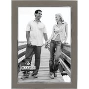 "Malden Sleek Border Metal Picture Frame, Silver, 5"" x 7"""
