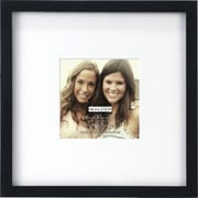 "Malden Smart Wood Picture Frame, Black, 4"" x 4"""