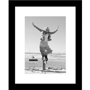 "Malden Niagra Floater Wood Picture Frame, Black, 8"" x 10"","