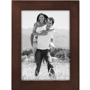 "Malden Classic Linear Wood Picture Frame, Dark Walnut, 5"" x 7"""