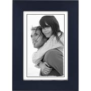 """Malden Classic Linear Wood Picture Frame, Blue, 4"""" x 6"""""""