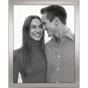 "Malden Essential Fashion Metal Picture Frame, Matte Silver, 8"" x 10"""