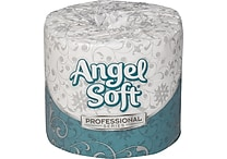 Angel Soft Professional Series™ Bath Tissue, White, 2-Ply, 40 Rolls/Case, 450 Sheets/Roll (16840)