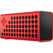Cuatro Bluetooth Portable Wireless Speaker w/ Bass+ Technology and Carrying Case - Red