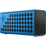 Cuatro Bluetooth Portable Wireless Speaker w/ Bass+ Technology and Carrying Case - Blue