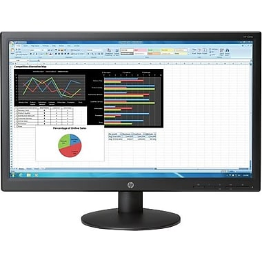 HP V241p 23.6-inch LED Business Monitor