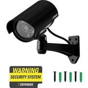 Defender Imitation Security Camera with Realistic Flashing LED, 21033
