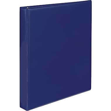 Staples® Simply Round Ring Binder, 1