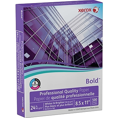 Xerox® Bold™ Professional Quality Paper 8 1/2