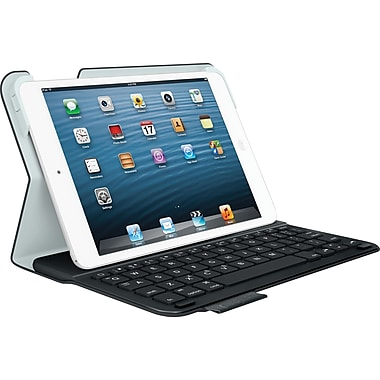 Logitech Ultrathin Keyboard Folio for iPad Mini, Carbon Black