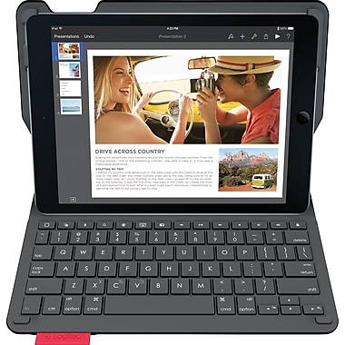 Logitech Type+ Protective Case with Integrated Keyboard for iPad Air 2, Black