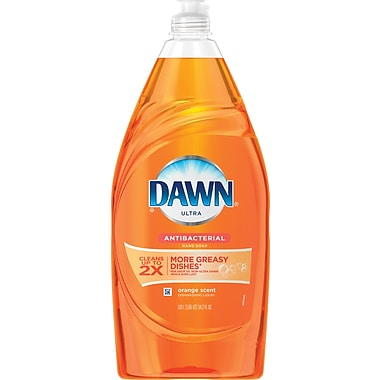 Dawn® Antibacterial Dish Soap, Orange, 34.2 oz (PGC 42906)