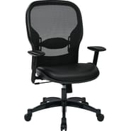 Space Seating Professional Breathable Back Eco Leather & Mesh Chair