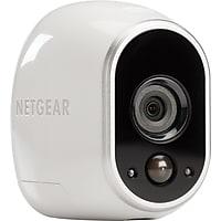 Netgear Arlo VMS3130 Smart Home Security Wireless HD Camera System + Amazon Echo Dot