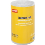 "Staples® 3/16"" Bubble Roll, 12""x25' (27161)"