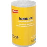 Staples® Standard Bubble Roll, 12 x 25'