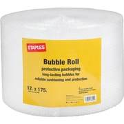 "Staples 3/16"" Bubble Roll, 12"" x 175' (27169-US/CC)"