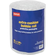 "Staples 5/16"" Bubble Roll, 12""x30' (27176-US/CC)"