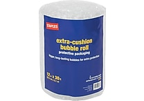 Staples® Large Bubble Roll, 12' x 30'