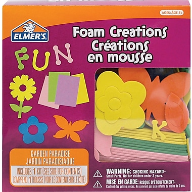 Elmer's® Foam Stickers, Magic Garden