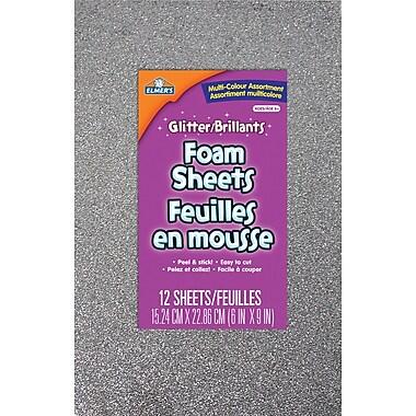 Elmer's® - Feuilles en mousse pailletée