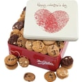 Mrs. Fields® 112 Nibblers Valentine Tin