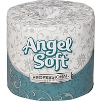 Angel Soft Professional Series Premium Bathroom Tissue, 450 Sheets/Roll (80 Rolls/Case)