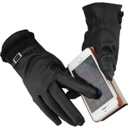iPM Winter Fancy Faux Fur & Wool SmartPhone Touch Screen Gloves - For Women