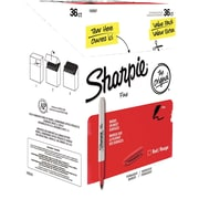 Sharpie Fine Point Permanent Marker, Red, 36/pk (1920937)