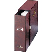 Franklin Covey Storage Binder and Sleeve -Classic, Burgundy
