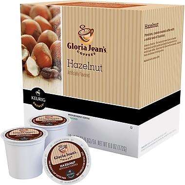 Keurig® K-Cup® Gloria Jean's® Hazelnut Coffee, Regular, 24 Pack