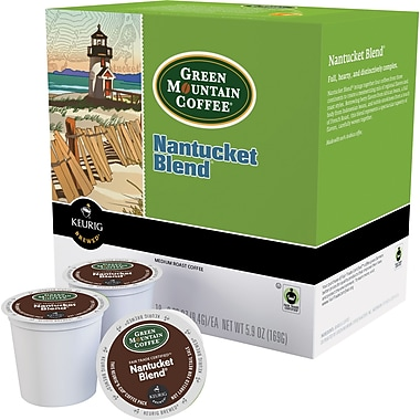 Keurig® K-Cup® Green Mountain® Nantucket Blend Coffee, Regular, 24 Pack