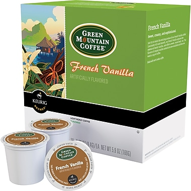 Keurig® K-Cup® Green Mountain® French Vanilla Coffee, Regular, 24 Pack