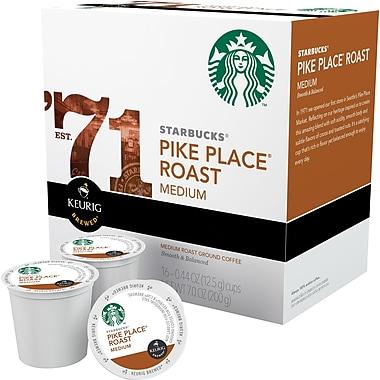 Keurig K-Cup Starbucks Pike Place Roast Coffee, Regular, 24/Pack