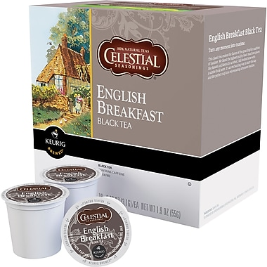 Keurig® K-Cup® Celestial Seasonings® English Breakfast Tea, Regular, 24 Pack