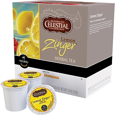 Keurig® K-Cup® Celestial Seasonings® Lemon Zinger Tea,Decaffeinated, 24/Pack