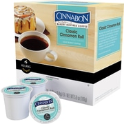 Keurig Cinnabon Classic Cinnamon Roll Coffee, Regular, 24 K-Cups/Pack (6305)