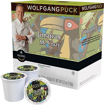 Keurig K-Cup Wolfgang Puck Jamaica Me Crazy Coffee, 24/Pack 783601