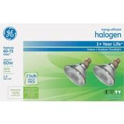 Energy-Efficient Halogen 60 Watt Par38 Floodlight, 2/Pk