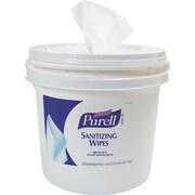 Sanitizing Wipes Bucket Dispenser,11.625 x 11.625 x 10.125, 1200/1500 Wipe Capacity