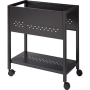 "Mobile File Cart, 24"" Deep"