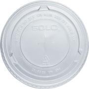 SOLO® PET Plastic Flat Cold Cup Lids, 2,500/Case