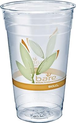 SOLO Bare& reg; Eco-Forward, 24 oz, PET Clear Cups 1538596