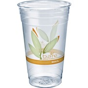 SOLO® Bare& reg; Eco-Forward, 24 oz, PET Clear Cups