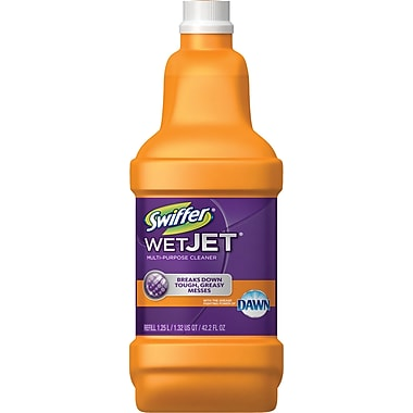 Swiffer 174 Wet Jet Solution With Dawn Refill Staples 174