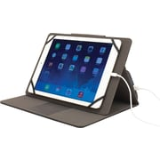 "M-Edge Universal Stealth Power Case for 9"" - 10"" Tablets, Black"