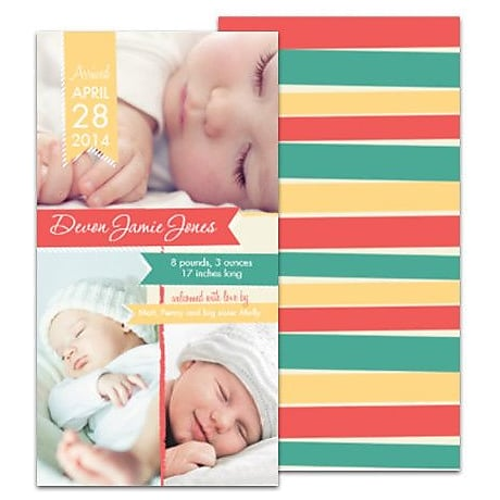 Birth Announcements Birth Announcement Cards – Announcement of Baby